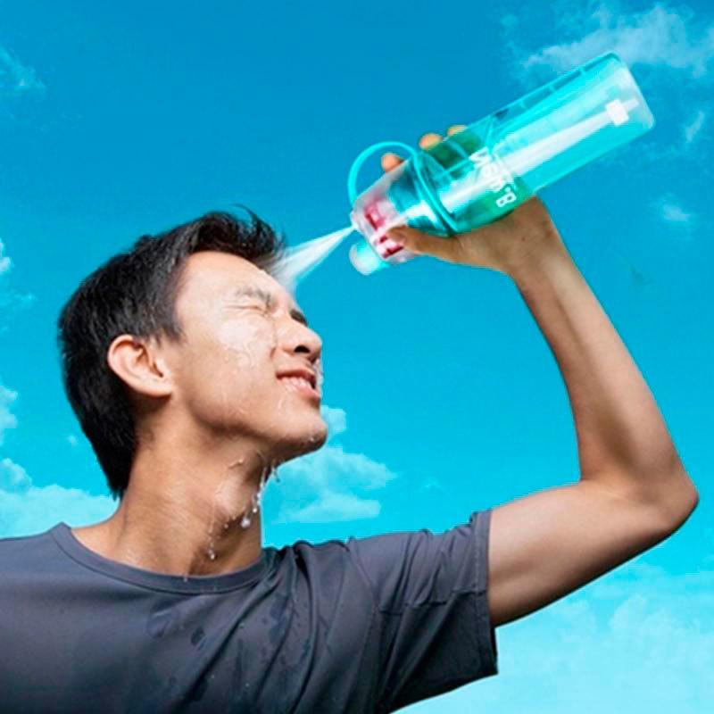 6d92b9a3b587 Купить за 3 490 тг. Бутылка для воды спортивная с распылителем New.B ...