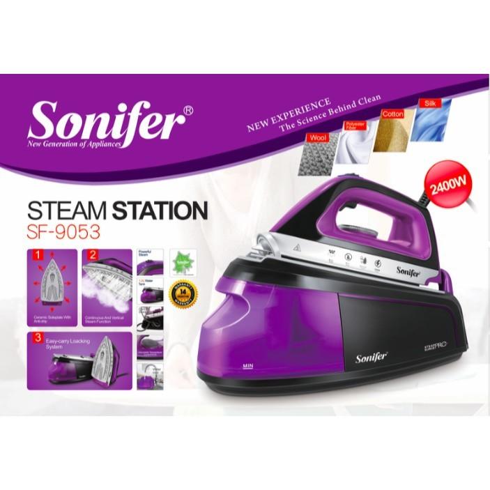Купить за 27 490 тг. Паровая гладильная станция Sonifer SF-9053 ... d8a184e27bfa2
