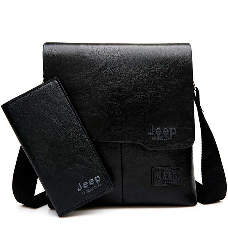 f4c04d197697 Купить за 11 490 тг. Набор мужской сумка + портмоне Jeep Buluo со ...